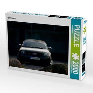 Sportwagen 2000 Teile Puzzle quer