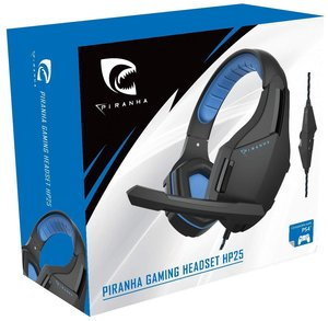 PIRANHA GAMING HEADSET HP25, Kopfhörer mit Mikrofon