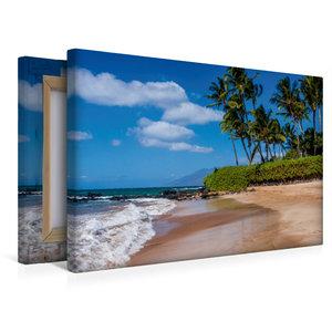 Premium Textil-Leinwand 45 cm x 30 cm quer Kihei Beach