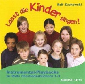 Lasst die Kinder singen! - Instrumental-Playbacks zu Rolfs Chor