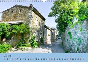 Dorfidyllen in Frankreich