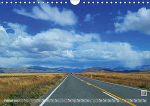 Neuseeland Unterwegs auf den Traumstraßen der Südinsel (Wandkale