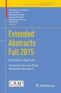 Extended Abstracts Fall 2015