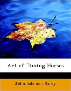 Art of Timing Horses