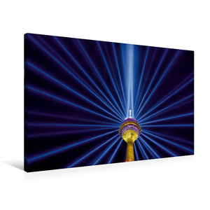 Premium Textil-Leinwand 90 cm x 60 cm quer Leuchtender Komet - 7
