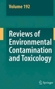 Reviews of Environmental Contamination and Toxicology 192