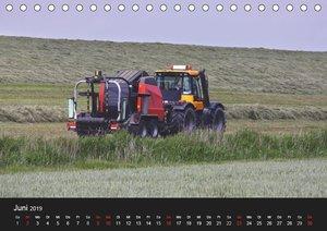 Trecker & Co. bei der Arbeit - Landwirtschaft in Ostfriesland (T