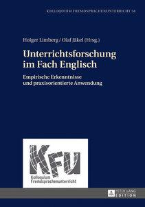 Unterrichtsforschung im Fach Englisch