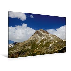 Premium Textil-Leinwand 75 cm x 50 cm quer Piz Alv