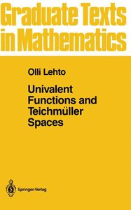 Univalent Functions and Teichmüller Spaces