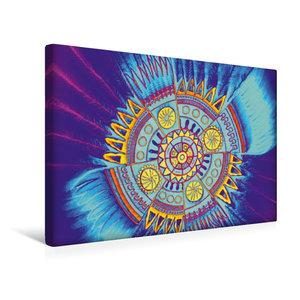 Premium Textil-Leinwand 45 cm x 30 cm quer Indian Spirit