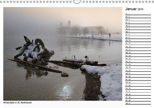 Grüß Gott am Königssee (Wandkalender 2019 DIN A3 quer)