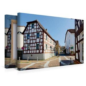 Premium Textil-Leinwand 45 cm x 30 cm quer Mühlstraße
