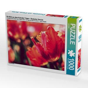 Ein Bild aus dem Kalender Tulpen - Deutsche Version 1000 Teile P