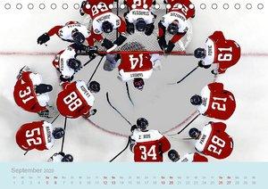 Eishockey! Schneller, härter, das Powergame! (Tischkalender 2020