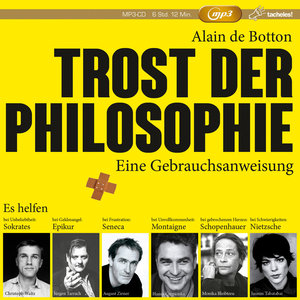 Trost Der Philosophie (1x MP3-CD)