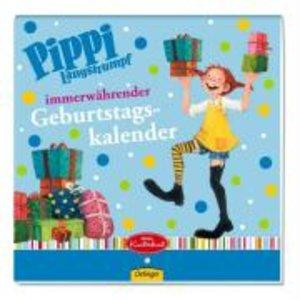 Lindgren, A: Pippi Langstrumpf Geburtstagskalender