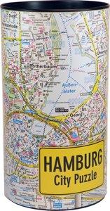 Hamburg City Puzzle 500 Teile, 48 x 36 cm