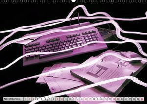 Computer der 80er (Wandkalender 2019 DIN A2 quer)