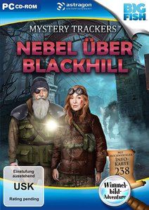 Mystery Trackers, Nebel über Blackhill, 1 DVD-ROM