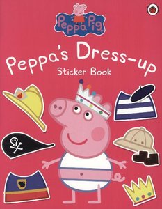 Peppa Pig: Peppa\'s Dress-Up Sticker Book