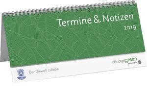 Concept green neutral grün Wochenquerplaner - Kalender 2019