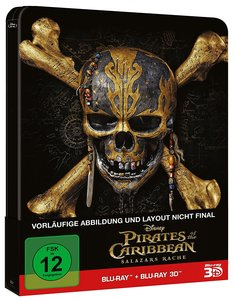 Pirates of the Caribbean: Salazars Rache (2D+d - Steelbook Editi