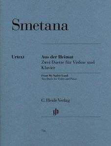 Aus der Heimat - Zwei Duette für Violine und Klavier