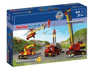 Fischertechnik 548885 - ADVANCED Universal 4, 40 Modelle, 500 Ba