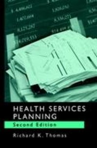 Health Services Planning