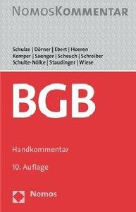 Bürgerliches Gesetzbuch (BGB), Handkommentar