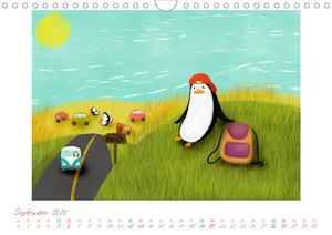 Mein Pinguin Kidskalender (Wandkalender 2020 DIN A4 quer)