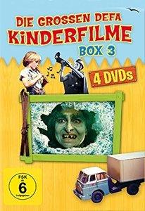 Die grossen DEFA Kinderfilme Box 3 - 4er Schuber - (Olle Hexe; D
