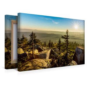 Premium Textil-Leinwand 45 cm x 30 cm quer Herbststimmung auf de