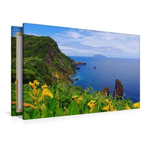 Premium Textil-Leinwand 120 cm x 80 cm quer Aussichtspunkt Mirad