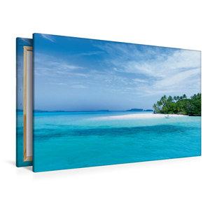 Premium Textil-Leinwand 120 cm x 80 cm quer Tonga