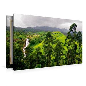 Premium Textil-Leinwand 90 cm x 60 cm quer Sri Lanka Highlands W