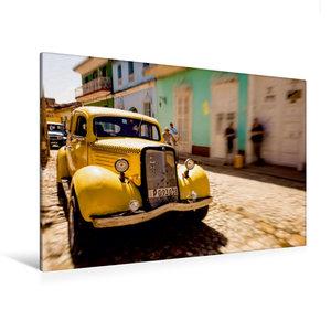 Premium Textil-Leinwand 120 cm x 80 cm quer Trinidad