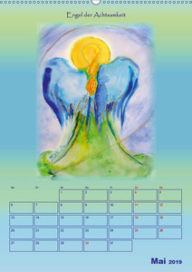 Engelhafter Kalender (Wandkalender 2019 DIN A2 hoch)
