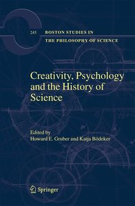 Creativity, Psychology and the History of Science