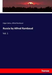 Russia by Alfred Rambaud