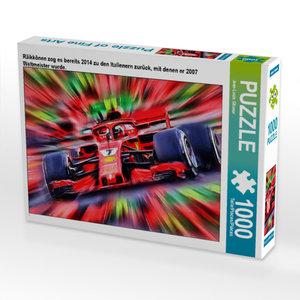 CALVENDO Puzzle Räikkönen zog es bereits 2014 zu den Italienern