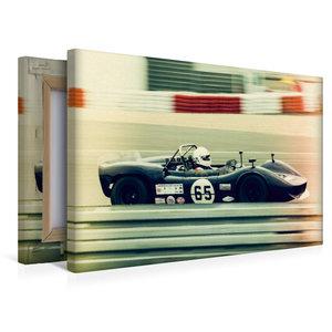 Premium Textil-Leinwand 45 cm x 30 cm quer Roaring V8 Engines