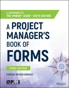 A Project Manager\'s Book of Forms
