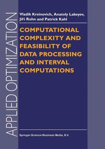 Computational Complexity and Feasibility of Data Processing and