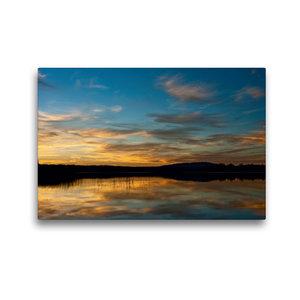 Premium Textil-Leinwand 45 cm x 30 cm quer Reflections