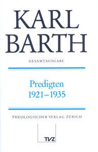 Predigten 1921-1935