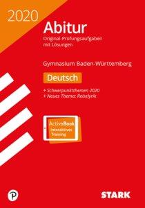 Abitur 2020 - Baden-Württemberg - Deutsch, Ausgabe mit ActiveBoo