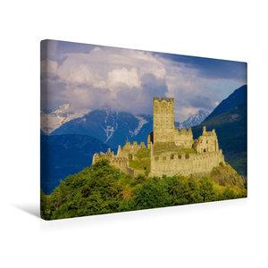 Premium Textil-Leinwand 45 cm x 30 cm quer Castello di Cly