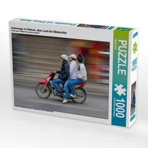 Unterwegs in Vietnam, dem Land der Motorroller 1000 Teile Puzzle
